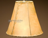 Use Southwest Rawhide Lamp Shades for Rustic Decor