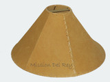 Gold Leather Lamp Shades