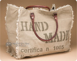 Rustic Canvas Purses & Totes