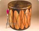 Tarahumara Indian Drums Tables