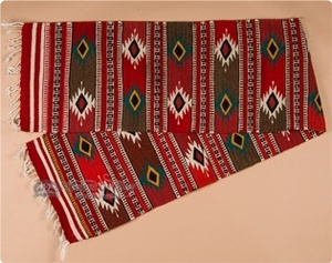 Zapotec Rugs, Table Runners, Place Mats, Pillows