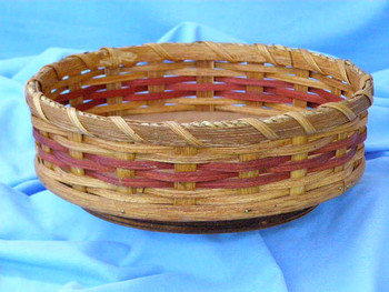 Amish Lazy Susan Basket
