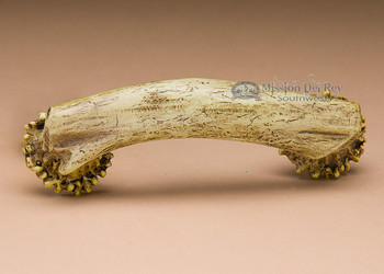 Faux antler drawer pull.