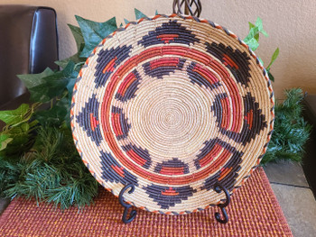 Handwoven Basket with Stand