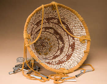 Authentic handmade burden basket.