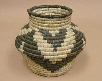 "Woven Native Style Olla Basket 8.5"" (a35)"