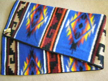 Southwestern Native Design Blanket