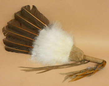 Handcrafted Navajo Prayer Fan