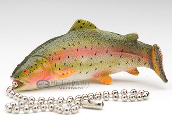 Resin Painted Chainpull - Trout