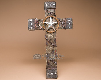 "Western large cross -19""."