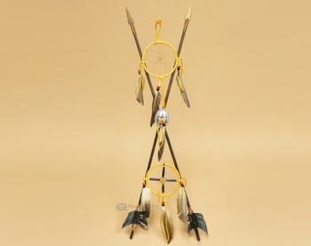 Old Style Navajo Medicine Dreamcatcher Arrow Set