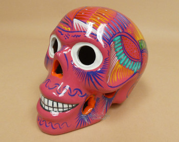 Hand Painted Day of the Dead Sugar Skull