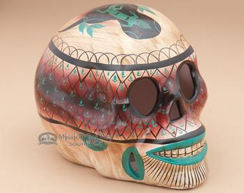 """Southwest Day Of The Dead Skull 6.5"""" (650)"""