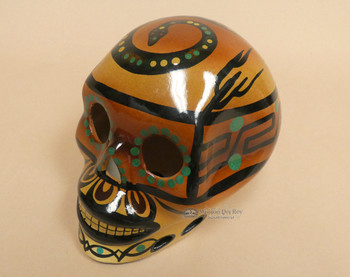 Southwest Day Of The Dead Skull - Snake