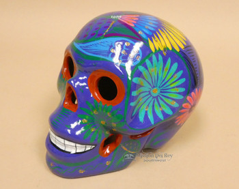 Ceramic Day of the Dead Skull