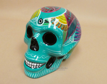 Mexican Hand Painted Sugar Skull