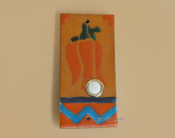 Saltillo Tile Doorbell -Chilli