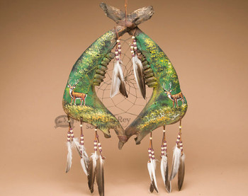 Tarahumara Jaw Bone Dreamcatcher - Deer