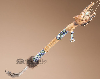 Creek Dreamcatcher and Eagle Crown Staff