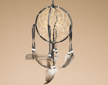 3D Native American Dreamcatcher - Black