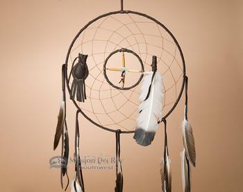 "12"" Medicine Wheel and Dreamcatcher Combo -Brown"