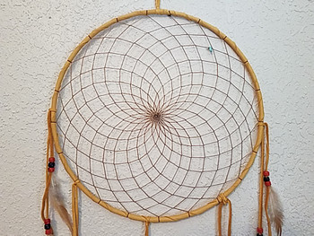 Native American Navajo Dream Catcher 12""