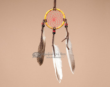 Navajo Bone Dream Cactcher - 2.5""