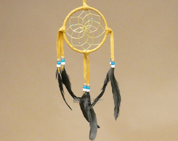 Navajo Dream Catcher - Gold