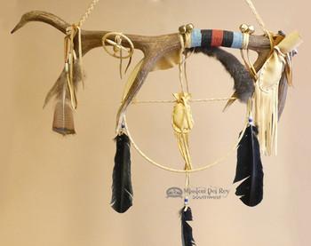 "American Indian Elk Medicine Antler 29"""