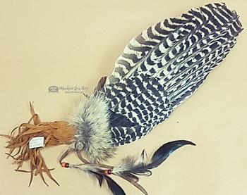Large Navajo Prayer Fan -Turkey Fan