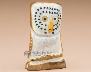 Zuni Indian Stone Fetish Owl