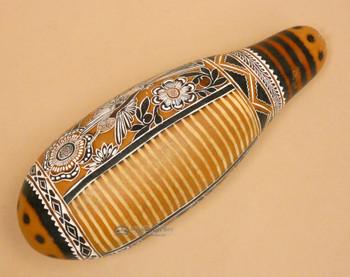 Etched Gourd Instrument