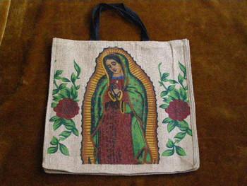Virgin of Guadalupe Market Bag