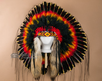 Deluxe Mystic Sunset War Bonnet
