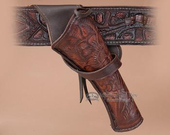 "Western Cross Draw Gun Holster 10"" -Right Handed (h4)"