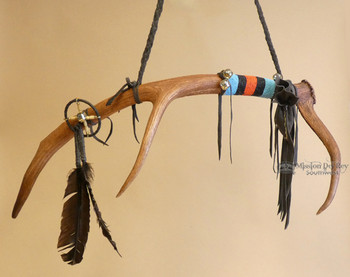 Native American Antler Dance Stick