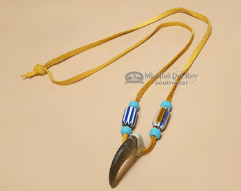 American Indian Real Bear Claw Necklace