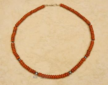 """Native American Navajo Indian Necklace 17.5"""""""