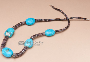 """Native American Jewelry Necklace 22"""""""
