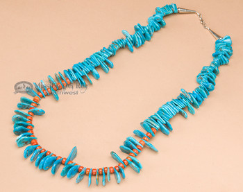 "Native American Navajo Jewelry -Necklace 24"""