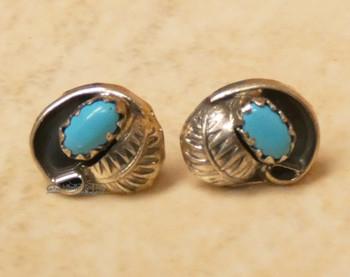 Native American Silver Earrings