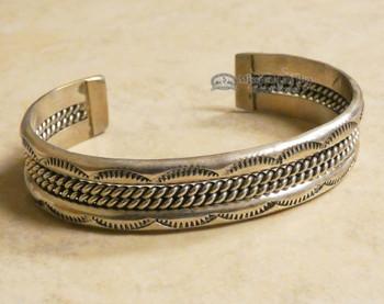 Native American Silver Cuff Bracelet