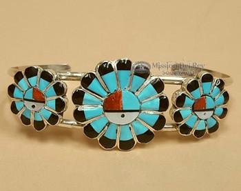 """Native American Zuni Cuff Bracelet 6"""""""