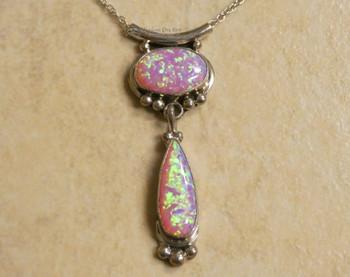 """Silver Necklace 18"""" -Navajo"""