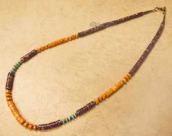 American Indian Nugget Necklace 19""
