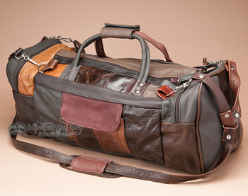 Genuine Cowhide Travel Bag