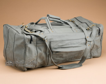 Luxurious Leather Duffle Bag
