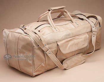 Genuine Cowhide Leather Travel Bag