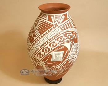 Large Southwestern Pottery Vase - Mata Ortiz