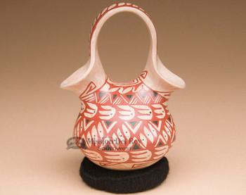 Unique Mata Ortiz Pottery Wedding Vase